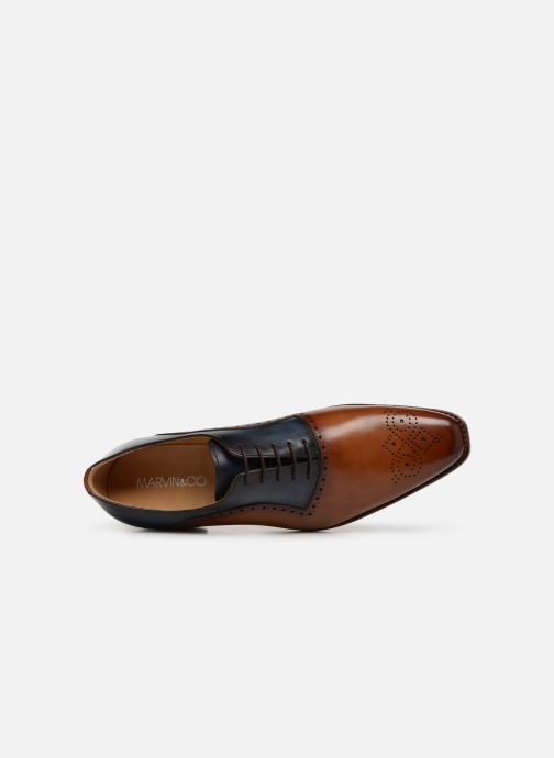 Zapatos con cordones Marvin&Co Luxe Welner - Cousu Goodyear Multicolor vista lateral izquierda